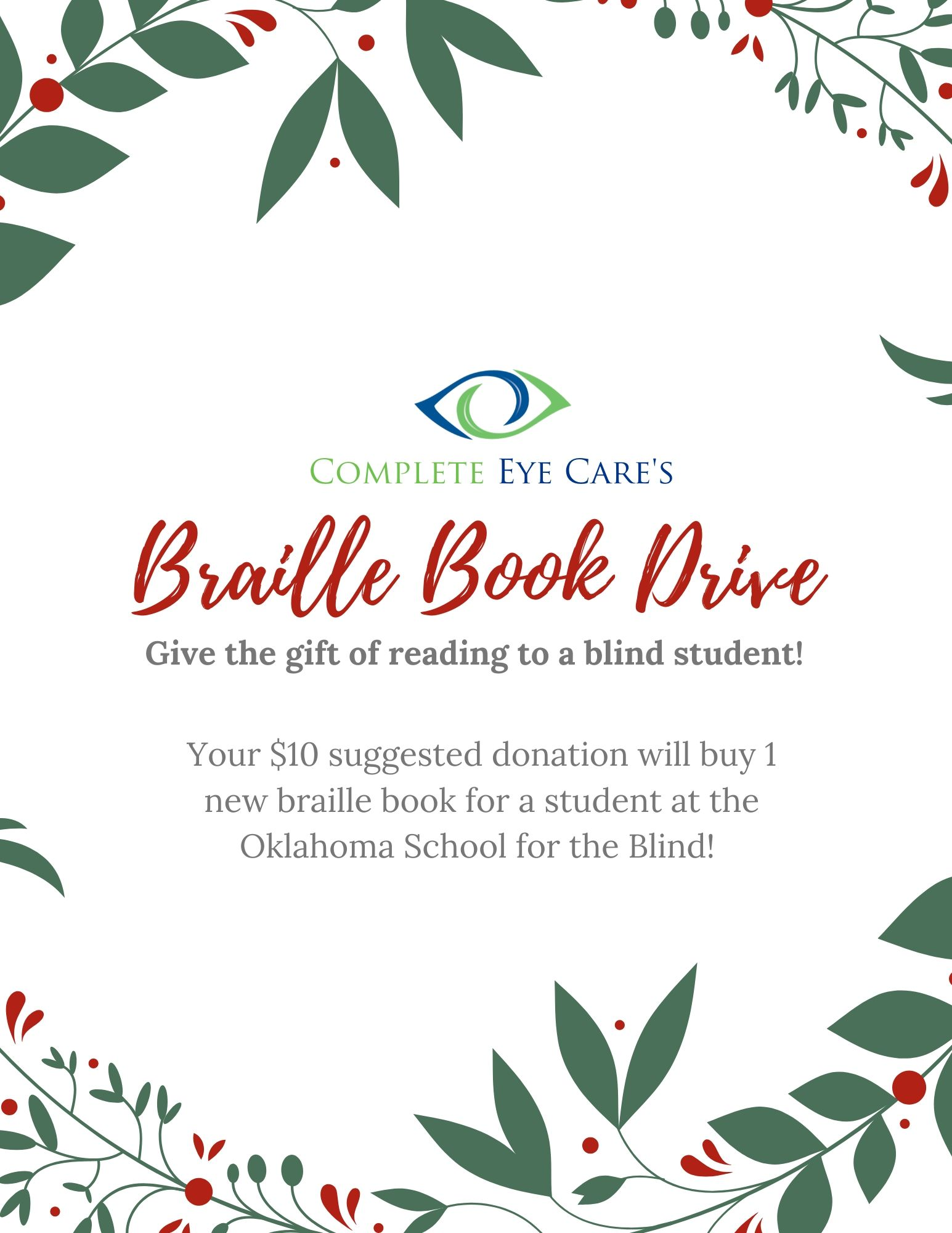Braille Book Drive